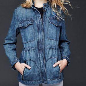 GAP chambray utility jacket